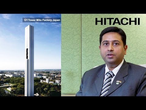#3 Hitachi Gearless Passenger(HGP), Variable Frequency Inverter(VFI) & Home Elevators - Hitachi