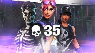 3 PLAYERS, 35 KILLS! Squads w/ Dakotaz, FaZe Yelo & kiichi-chaos (Fortnite Battle Royale Season 7)