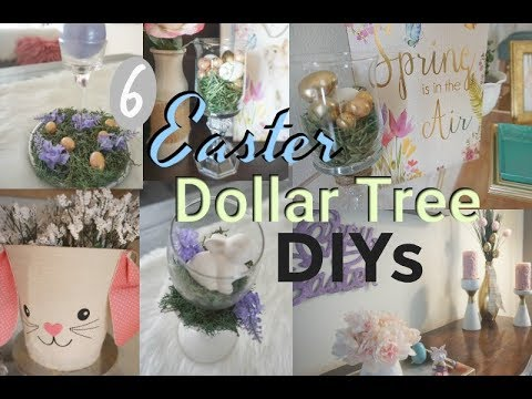 EASY EASTER DOLLAR TREE DIYS|MODERN FARMHOUSE STYLE EASTER DIYS| Megan Navarro