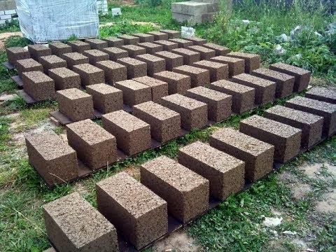 Блоки монолитный своими руками в разы дешевле.