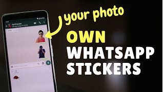 How To Make Whatsapp Stickers With Your Photos?