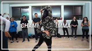 Neha Kakkar | Chamma Chamma ft Romi, Arun, Ikka | Choreography by Anoshinie M