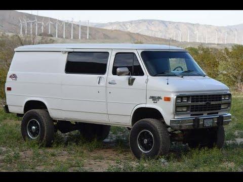 1995 Chevy Cargo Van Conversion