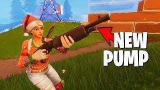 *NEW* Pump Shotgun is Amazing, Best Update Yet? (Fortnite Battle Royale)