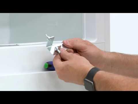 How To Install Your AEG Fridge/Freezer Sliding Door – Column Installation
