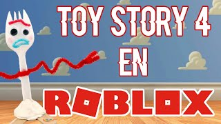 FORKY MONTA-A RUSA en ROBLOX / / Toy Story 4 en Roblox
