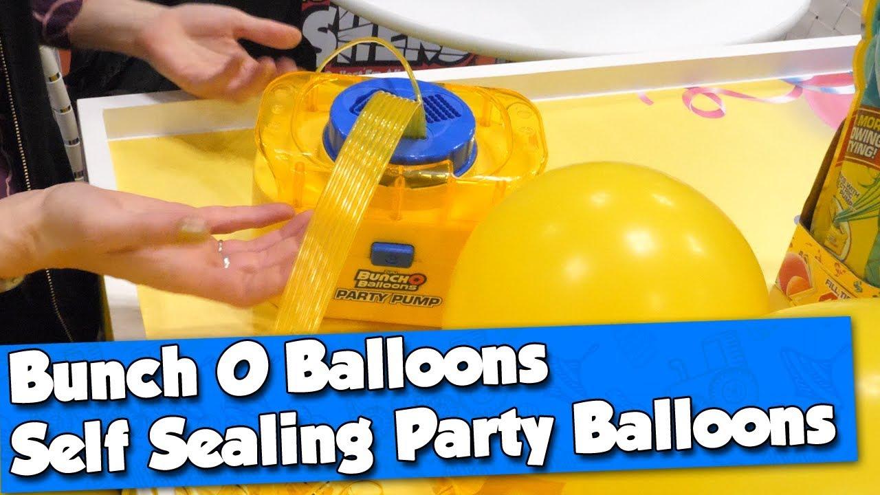 Bunch O Balloons Party Pump & Self Sealing Party Balloons By Zuru