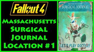 Fallout 4 - Massachusetts Surgical Journal - Parsons State Insane Asylum - 4K Ultra HD