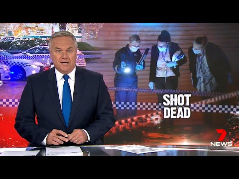 Blacks + Muslim Gangs, Bad Migrants. Out Of Control Gun Violence.(Melbourne)  Nine + Seven News