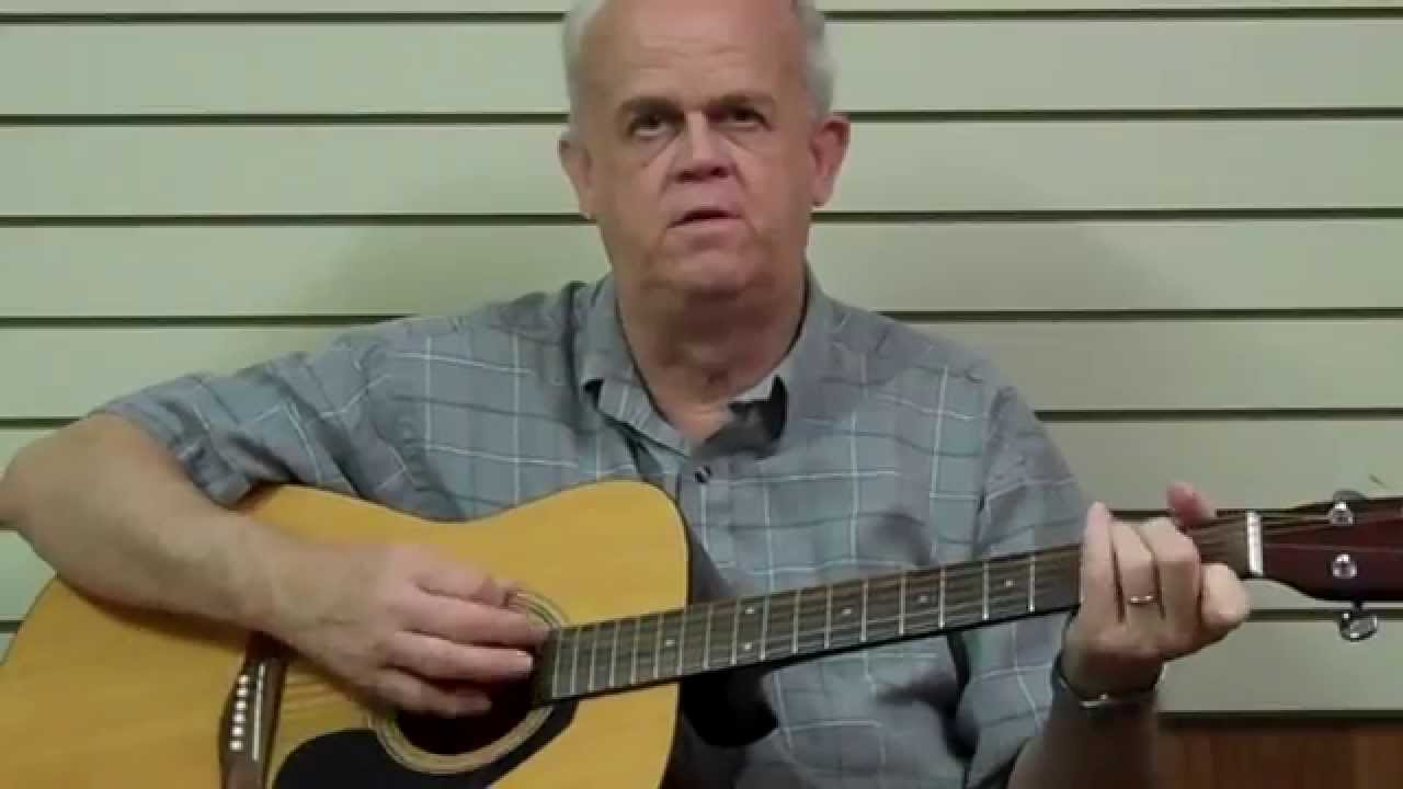 how to play lonesome town on guitar