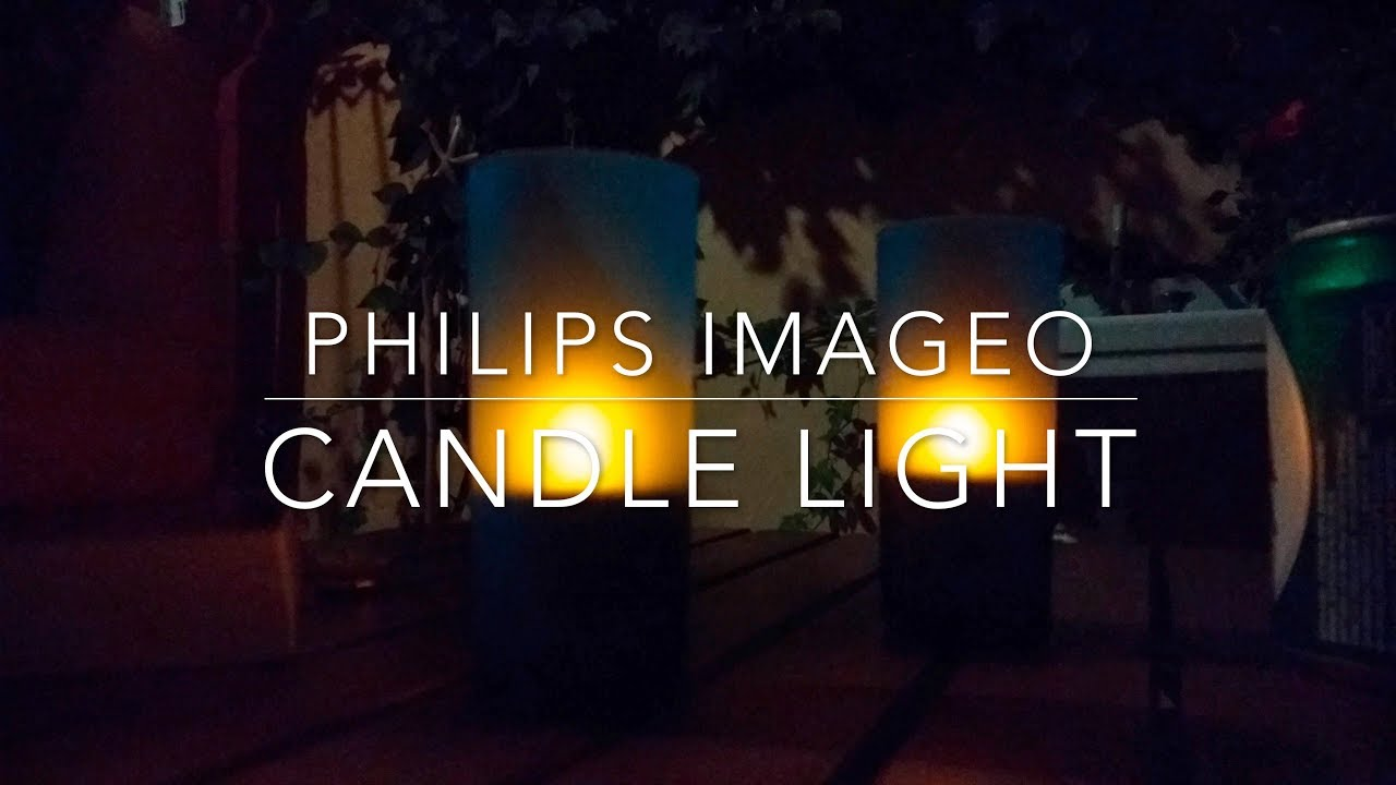 Philips Imageo Philips Imageo Rechargeable Led Candle Lights