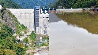 【八ッ場ダム】貯水開始初期と満水時の比較【定点撮影】