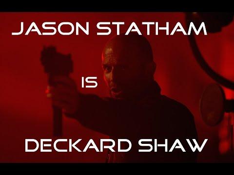 JASON STATHAM is Deckard Shaw   Fast & Furious