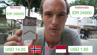 HOW CHEAP IS INDONESIA VS NORWAY