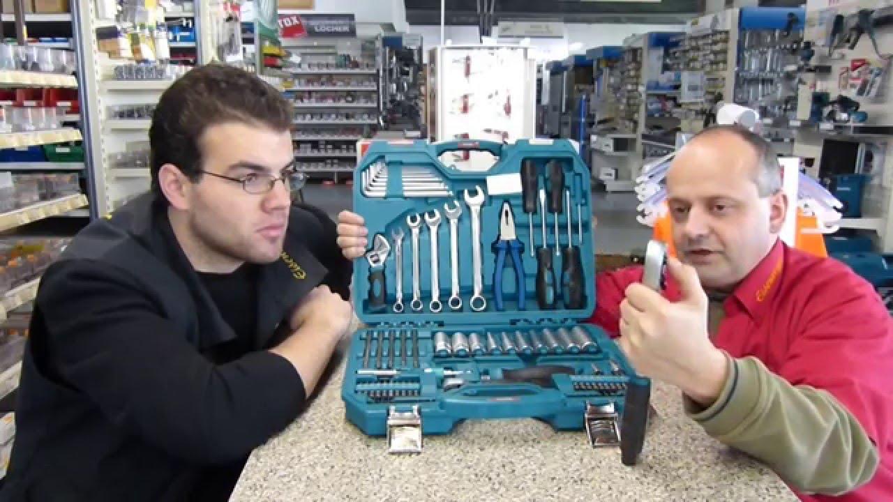 Vorstellung Makita Werkzeugkoffer P 90093 83 Teilig Youtube