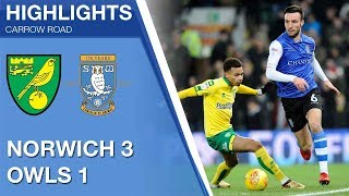 Norwich City 3 Sheffield Wednesday 1 | Extended highlights 2017/18