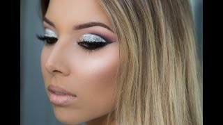 Party Makeup: Glitter Cut Crease Tutorial!