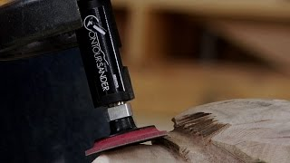 Sanding Fine Details  |  Woodworkers Guild Of America