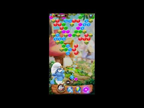 Smurf Bubble Story Game Level 33 | The Lost Village Game