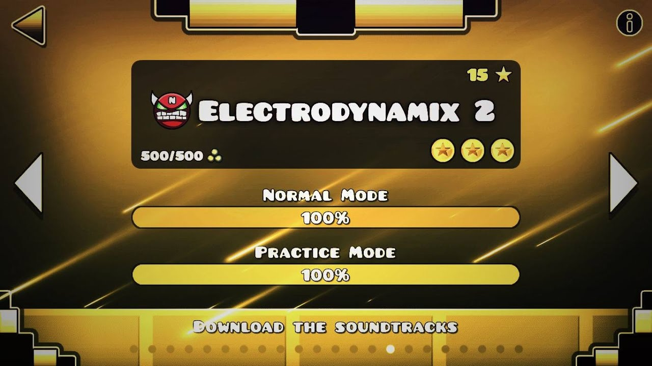 ELECTRODYNAMIX 2 (FULL LEVEL) - GEOMETRY DASH 2 2 (SYNC?)