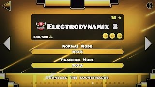 ELECTRODYNAMIX 2 FULL LEVEL GEOMETRY DASH 2 2 SYNC