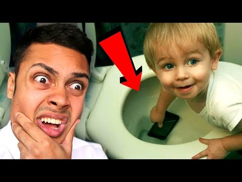 REACTING TO KIDS DOING STUPID THINGS