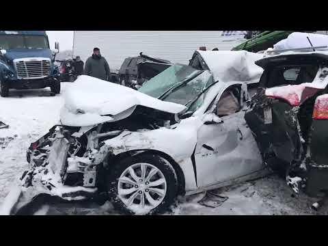 I-94 accident scene - YouTube