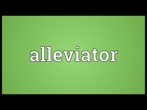 Header of alleviator