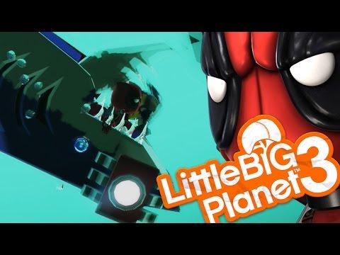 Little Big Planet 3 - SHARK ATTACK! (LittleBigPlanet)