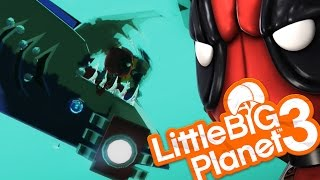 Little Big Planet 3 - SHARK ATTACK! (LittleBigPlanet)