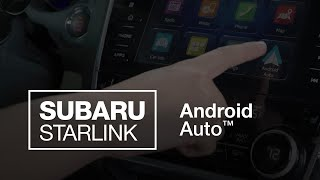homepage tile video photo for SUBARU STARLINK Android Auto (2020 Updated)