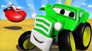 Das lauteste kleine Fahrzeug in Car City  - Autopolis 🚓 🚒 Lastwagen Zeichentrickfilme für Kinder