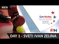 EuroHockey Indoor Club Trophy 2017 Men - Day 1 - Sveti Ivan Zelina, Croatia