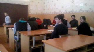 Мои ненавистные одноклассники (на уроке русского языка)