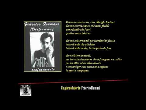 Federico Fiumani - Un giorno balordo