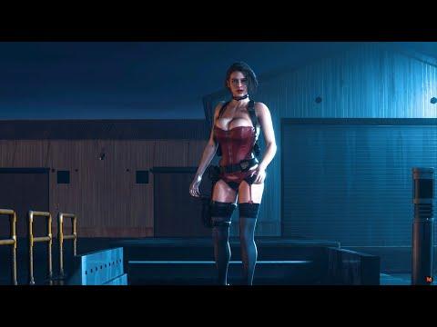 resident-evil-3-remake-jill-last-faith-red-corset-last-faith