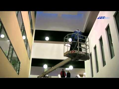Teupen USA LEO13GT - Facility management in a college building
