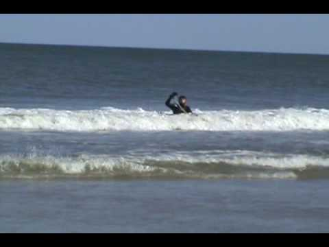 Bodyboarding Ocean City MD 4/12/09