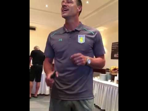 John Terry Sings 'Stand By Me' In Aston Villa Anitiation