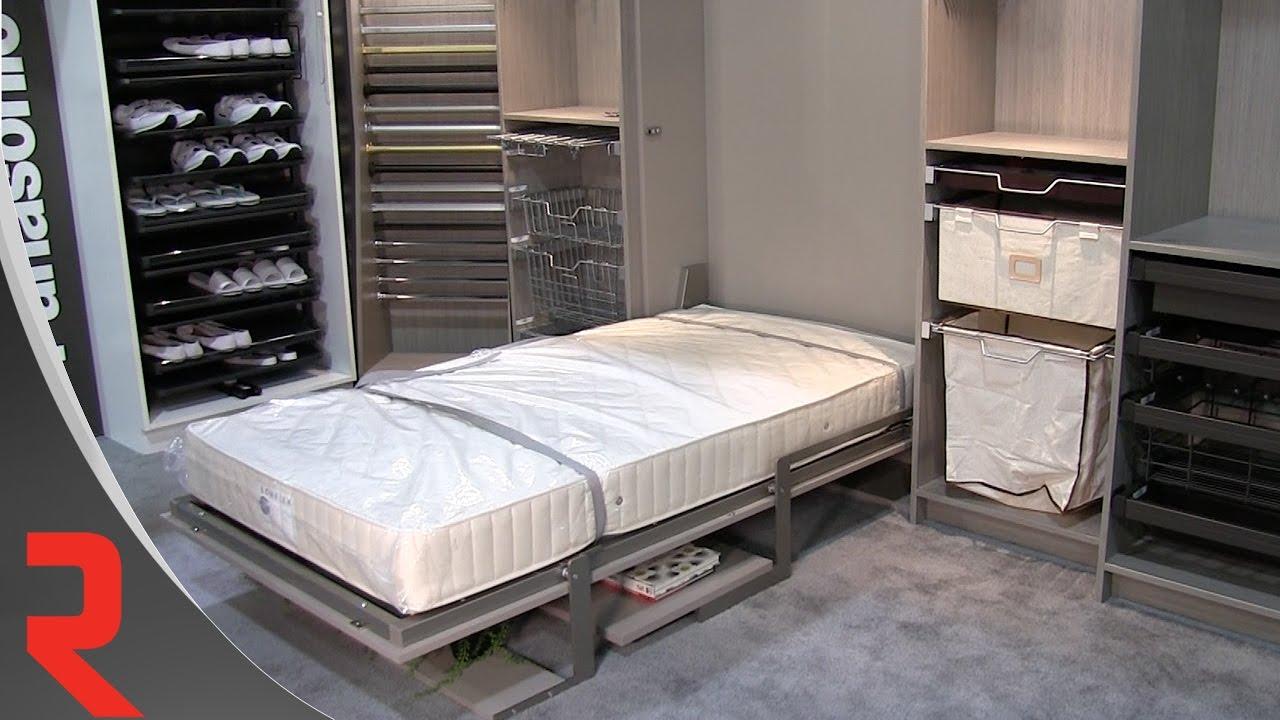 amazing visite du kiosque iwf lit escamotable with lit escamotable bimodal. Black Bedroom Furniture Sets. Home Design Ideas