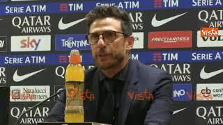 """Roma-Juventus 0-0, Di Francesco: """"Avrei voluto regalare un successo ai tifosi"""""""