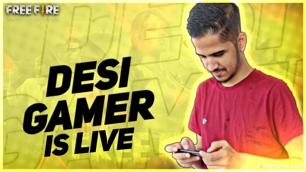 FREE FIRE LIVE - MOBILE PRACTICE - DESI ARMY