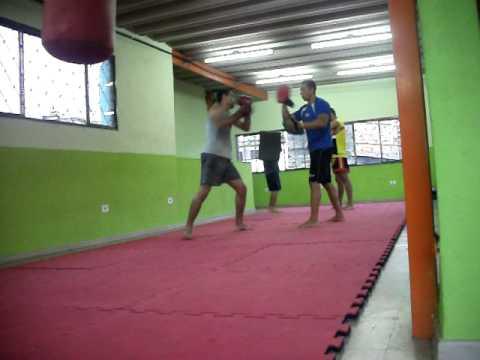 Hamilton Cezar Treino Muay Thai