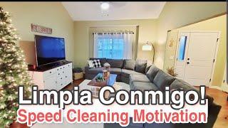 LIMPIA CONMIGO ANTES DE NAVIDAD😍🎄LIMPIEZA DE CASA💪 VIDEOS DE LIMPIEZA🧹Speed Cleaning Motivation