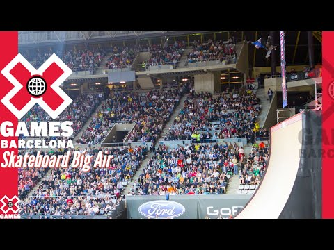 X Games Barcelona 2013 SKATEBOARD BIG AIR: X GAMES THROWBACK