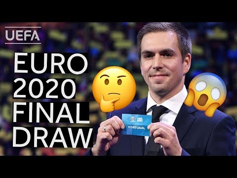 EURO 2020 Final Tournament Draw