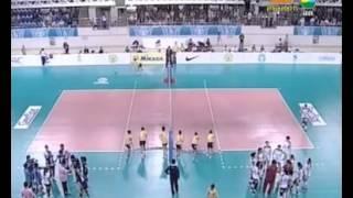 วอลเลย์บอลหญิง AVC CUP 2012 ไทย - จีน Set 2