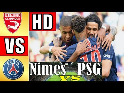 Nimes Olympique vs PSG 2-4 Highlights 2018/2019 All Goals - Resumen y Goles HD Gol Olímpico