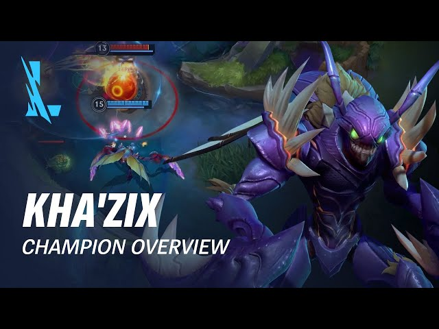 Kha'Zix Champion Overview | Gameplay - League of Legends: Wild Rift