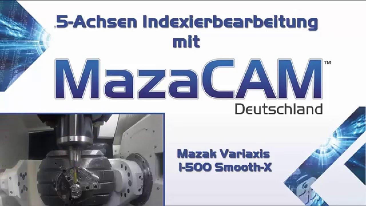 Mazak CAM Software - MazaCAM - Mazatrol CAD CAM & Editor
